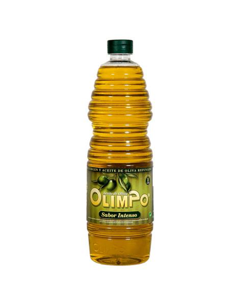 Aceite Oliva Sabor Intenso 1 litro plástico Olimpo Albacete