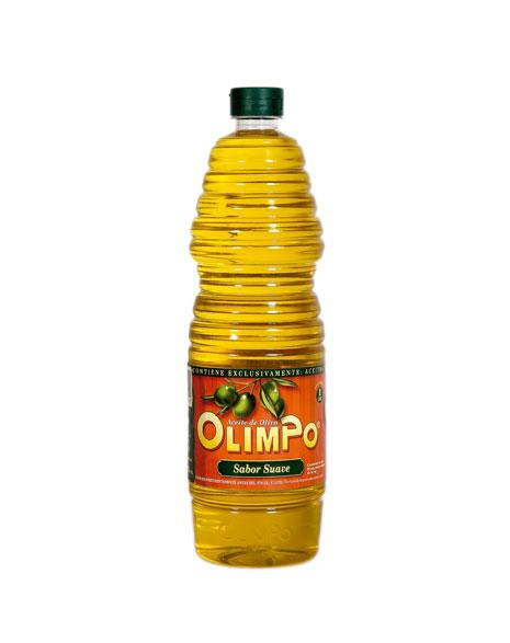 Aceite Oliva Sabor Suave 1 litro Olimpo Albacete