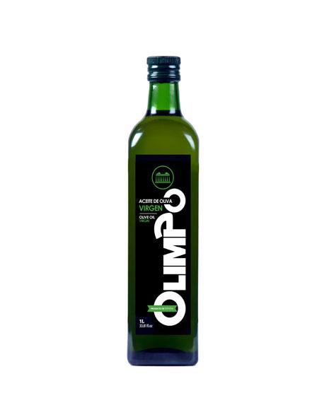 Aceite de Oliva Virgen 1 litro Olimpo Albacete