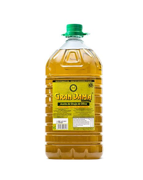 Aceite de orujo de oliva 5 litros lata Olimpo Albacete