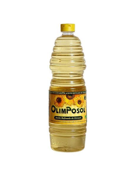 Aceite de girasol 1 litro Olimpo Albacete